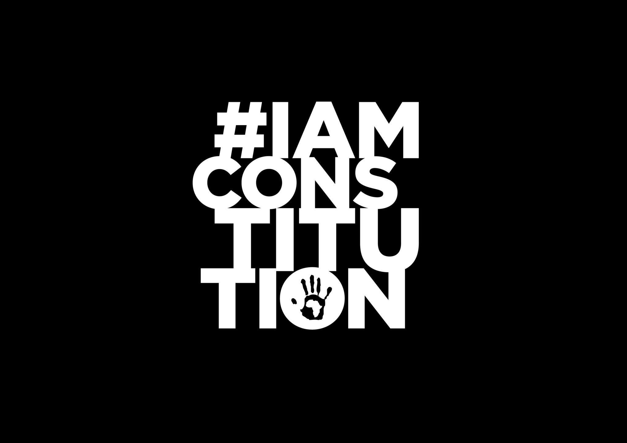 #IAMCONSTITUTION Logo